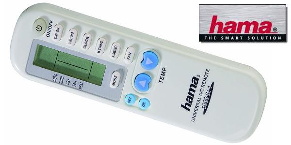 Mando universal Hama 040080 para aire acondicionado barato en Amazon