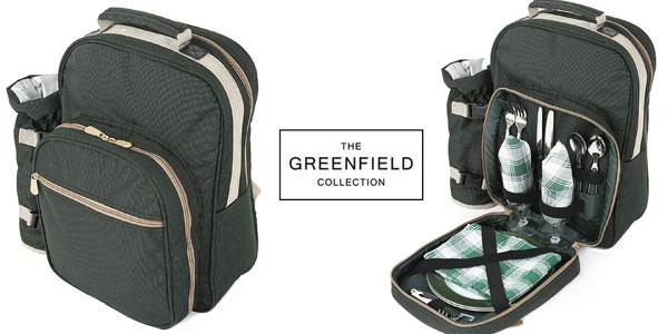 Mochila de Picnic i-koncepts Limited Greenfield Collection BP2DGH Luxury para dos personas barata en Amazon