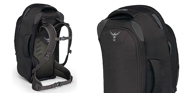 mochila de viaje Osprey Farpoint 55 oferta
