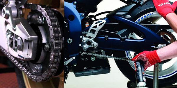 Lubricante Motul C2 para cadenas de moto de 400 ml barato