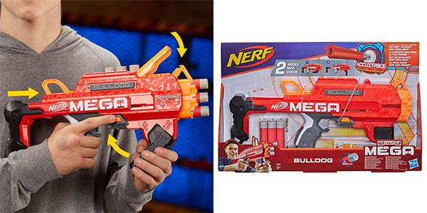 Lanzadardos Nerf Mega Bulldog en oferta