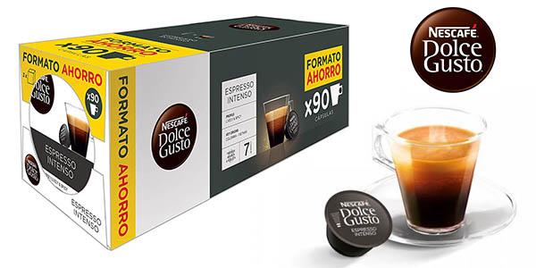 Nescafé Dolce Gusto Espresso Intenso cápsulas compatibles chollo Amazon