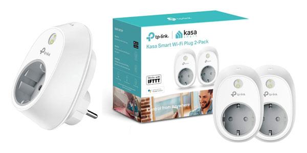 Enchufes inteligentes Tp-Link HS100 baratos en Amazon