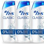 Pack x3 Champús anticaspa Head & Shoulders Classic de 540 ml baratos en Amazon