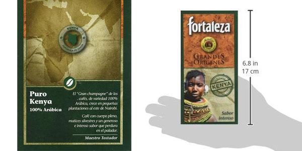 Pack x4 Café Café Molido Fortaleza Grandes Orígenes Kenya de 250 gr/ud chollo en Amazon