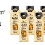 Pack x6 Champú Schwarzkopf Gliss Ultimate Oil Elixir para Cabellos Quebradizos de 250 ml/ud barato en Amazon