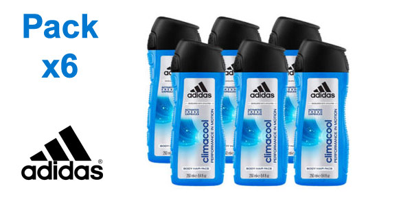 Gel de ducha Adidas Climacool hombre de 250 ml/ud barato en Amazon