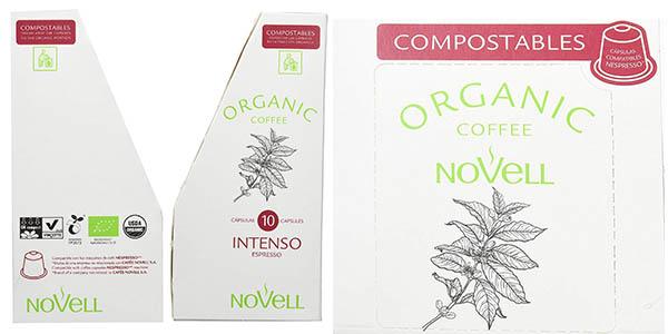pack cápsulas Novell Intenso orgánicas