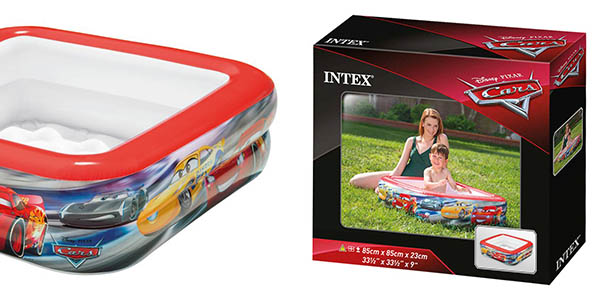 piscina hinchable de Intex Cars chollo
