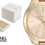 Reloj analógico Michael Kors MK3493 Slim Runway para mujer barato en Amazon