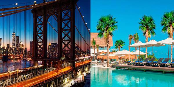 viaje organizado combinado al Caribe y Nueva York oferta