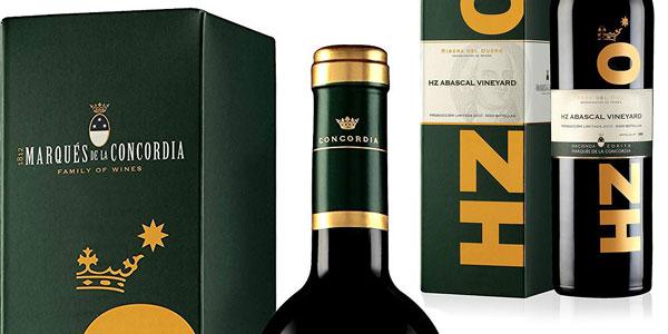 Vino tinto Hacienda Abascal Premium D.O Ribera del Duero de 750 ml chollo en Amazon