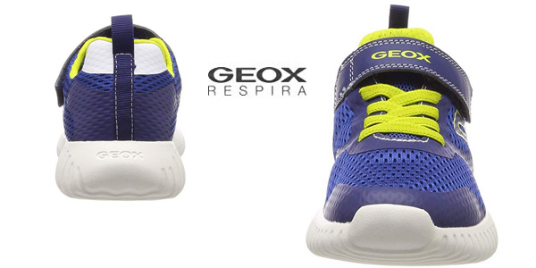Zapatillas deportivas Geox Jr Waviness Boy chollazo en Amazon