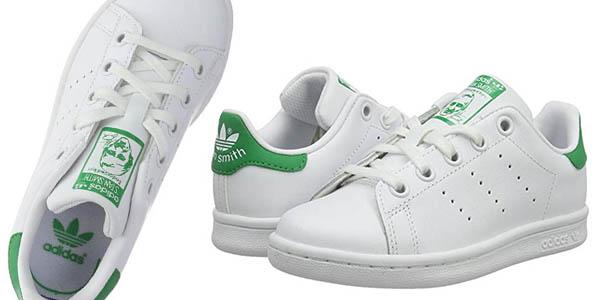 Adidas Stan Smith C zapatilla para niños relación calidad-precio estupenda