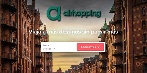 Airhopping buscador de vuelos multidestino baratos