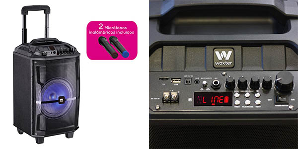 altavoz Woxter Roch'n'Roller XL con función karaoke barato