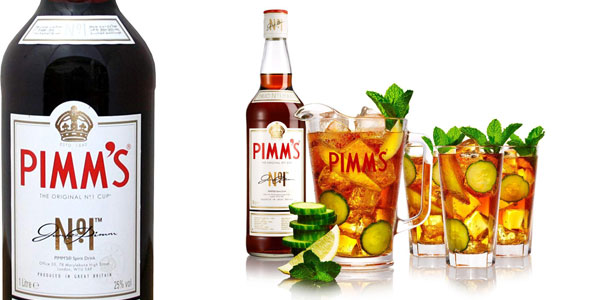 Botella Licor Pimm's Nº1 de 1L barata en Amazon