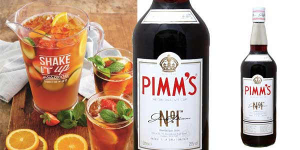 Botella Licor Pimm's Nº1 de 1L chollo en Amazon