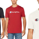 Camiseta manga corta Champion Crewneck T-Shirt para hombre barata en Amazon