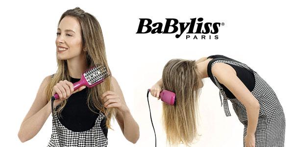 Cepillo alisador cerámico BaByliss Liss Brush 3D HSB100E chollo en Amazon
