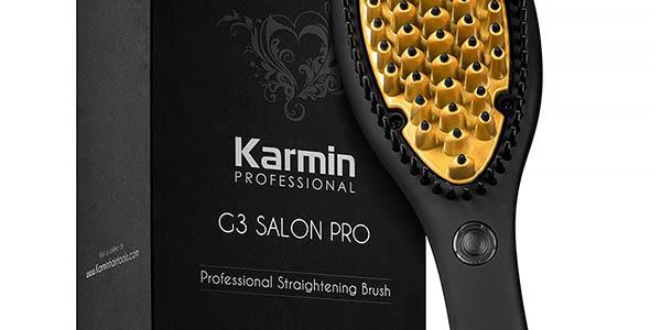 cepillo eléctrico para alisar el pelo Karmin K3 relación calidad-precio estupenda