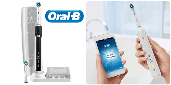 Cepillo de dientes eléctrico recargable Oral B Smart 4 4500 N chollo en Amazon