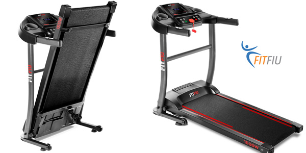 Cinta de correr plegable Fitfiu MC200 barata en Amazon