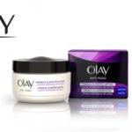 Crema hidratante facial de día Olay Anti-Edad efecto Lifting con SPF 15 de 50 ml barata en Amazon