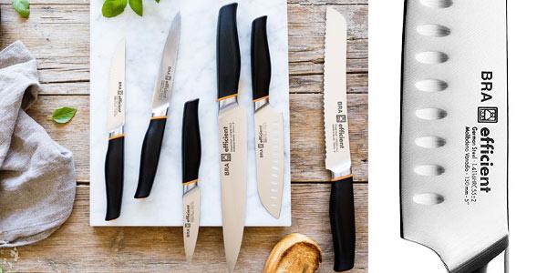 Cuchillos de cocina Bra Efficient baratos en Amazon