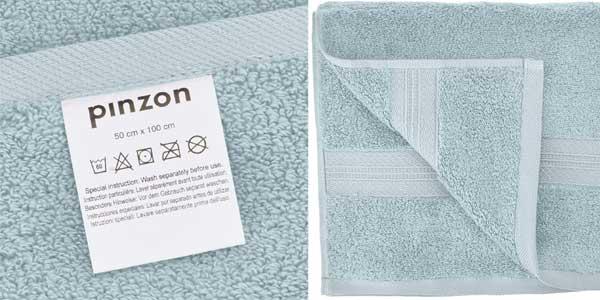 Juego de 4 toallas de algodón Pima Pinzon chollo en Amazon