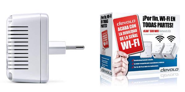 Kit PLC Devolo dLan 500 WiFi ES a buen precio en Amazon