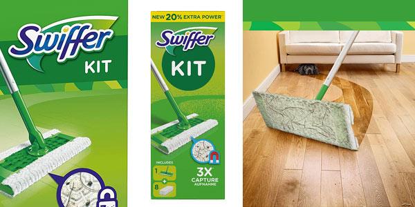 Kit de mopa básico Swiffer con 8 recambios al mejor precio en Amazon