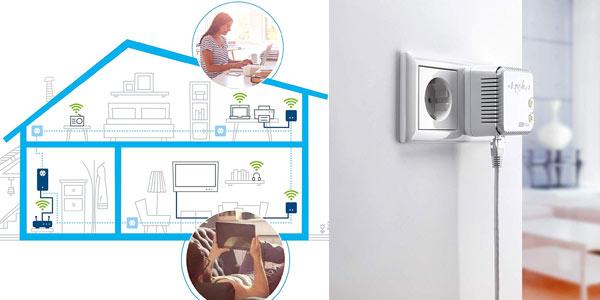Kit PLC Devolo dLan 500 WiFi ES en oferta en Amazon