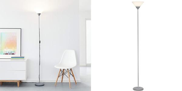 Lámpara de pie LED con bombilla de 10W E27 barata en Amazon
