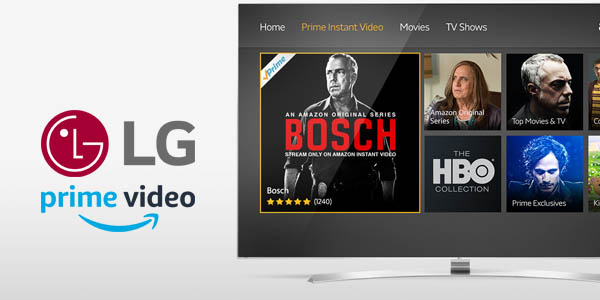 Amazon Prime Video en televisores LG