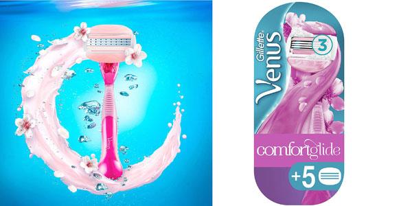 Venus ComfortGlide Spa Breeze Maquinilla + 5 recambios barata en Amazon