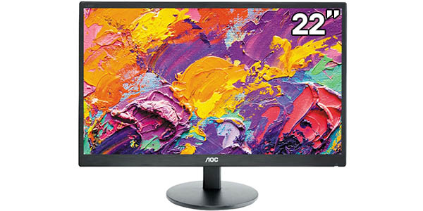 "Monitor AOC E2270SWHN de 21,5"" Full HD"