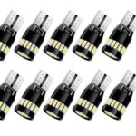 Pack 10 bombillas T10 LED Canbus Anpro para coche barato en Amazon