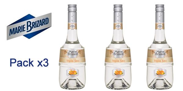 Pack x3 botellas Marie Brizard Triple Sec de 700 ml barato en Amazon