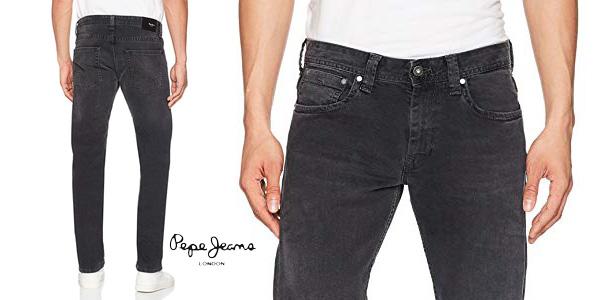 Pantalones vaqueros Pepe Jeans Kingston para hombre baratos en Amazon
