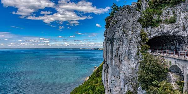Península de Istria, Italia y Eslovenia ruta en coche barata