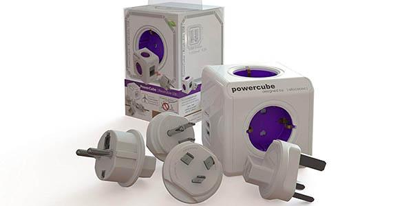 Regleta Powercube ReWirable Allocacoc 1800/DERW4P en Amaazon