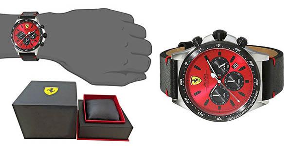 reloj de pulsera Ferrari para hombre chollo