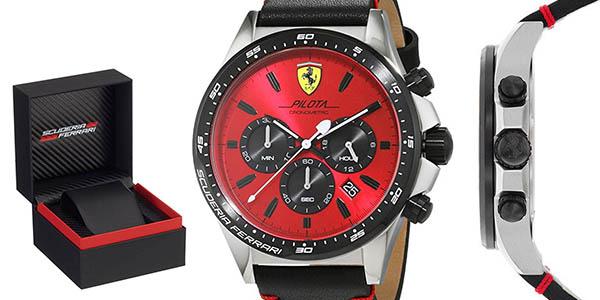 reloj sumergible Ferrari Scuderia relación calidad-precio estupenda