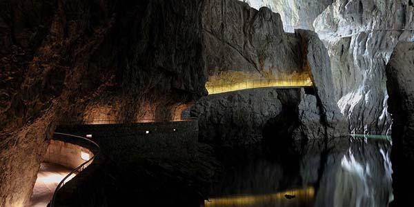 ruta en coche por Venecia y Cuevas Skocjan Istria presupuesto bajo width=
