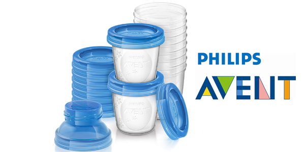 Pack x10 vasos Philips Avent (SCF618/10) de 180ml para alimentación infantil barato en Amazon