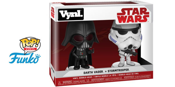 Funko Star Wars Darth Vader + Stormtrooper (31616) barato en Amazon