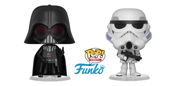 Funko Star Wars Darth Vader + Stormtrooper (31616) chollo en Amazon