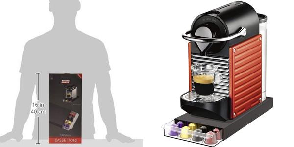 Soporte Tavolaswiss 50.CASS40 para cápsulas de café chollo en Amazon