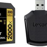 Tarjeta Lexar Profesional 2000x SDHC/SDXC UHS-II de 300 MB/s